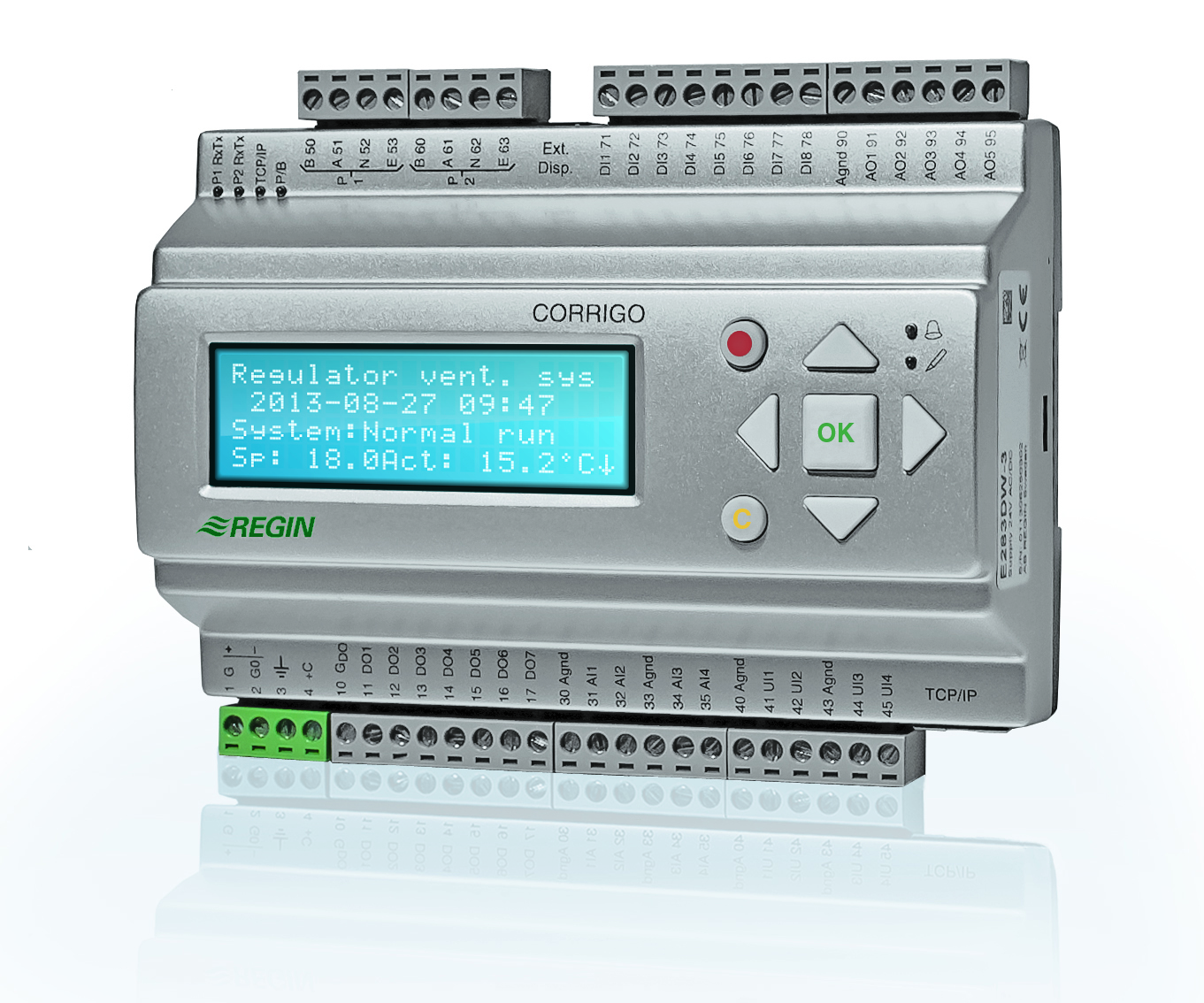 инструкция на контроллер вентиляции regin